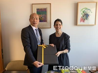 韓國瑜:歡迎洛杉磯副市長來高雄一遊