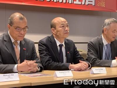 韓國瑜在美嗆:台大法律系總統讓台灣經濟殘廢