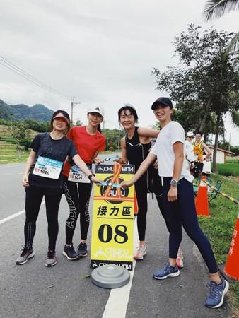 ▲陳意涵22小時跑完210公里。(圖/翻攝自Facebook/陳意涵)