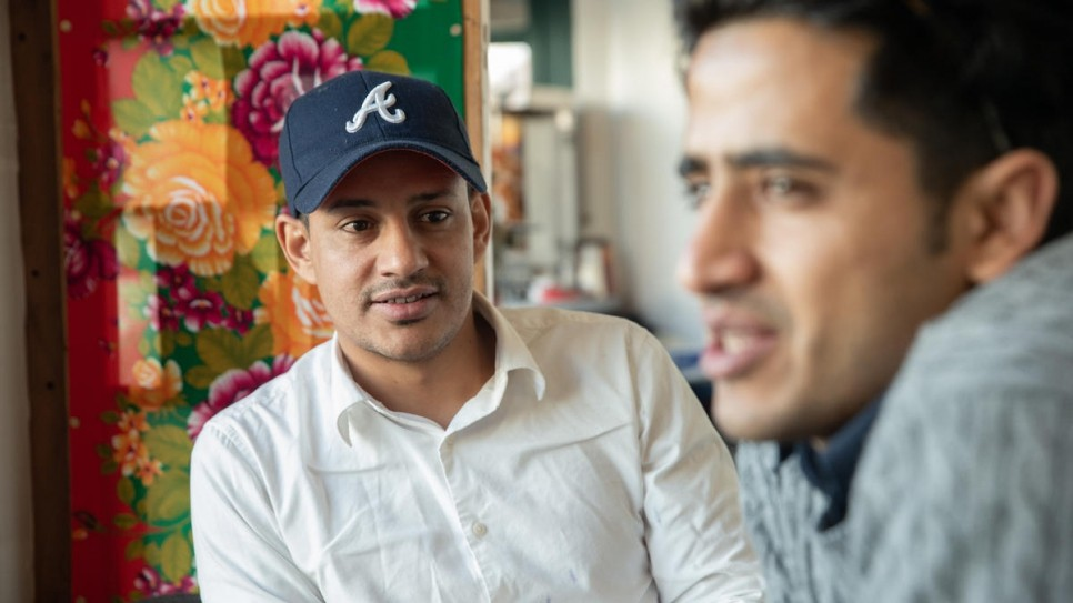 ▲▼葉門人Mohammed Ameen Almaamari(圖/翻攝自聯合國難民署UNHCR)