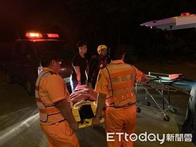 女子墜橋 海巡配合消防人員成功救援
