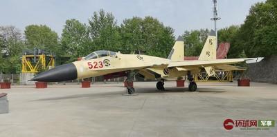 中國大陸首個「功勳飛機園」開幕