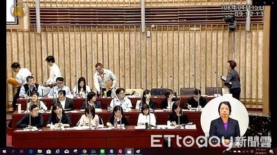 王淺秋議會報告缺席 新聞局官員挨轟