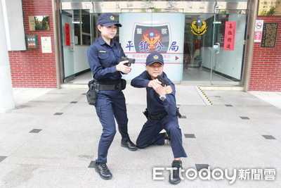 桃警壓力測試新制服「沒問題」 女警不怕走光