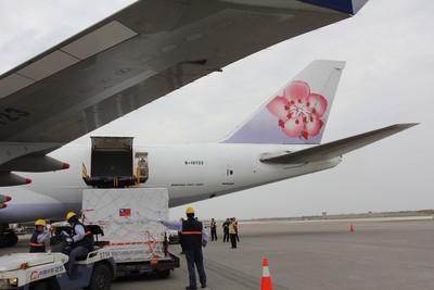 影/福衛七號、台積電機都靠華航 航空貨運景氣今年續旺
