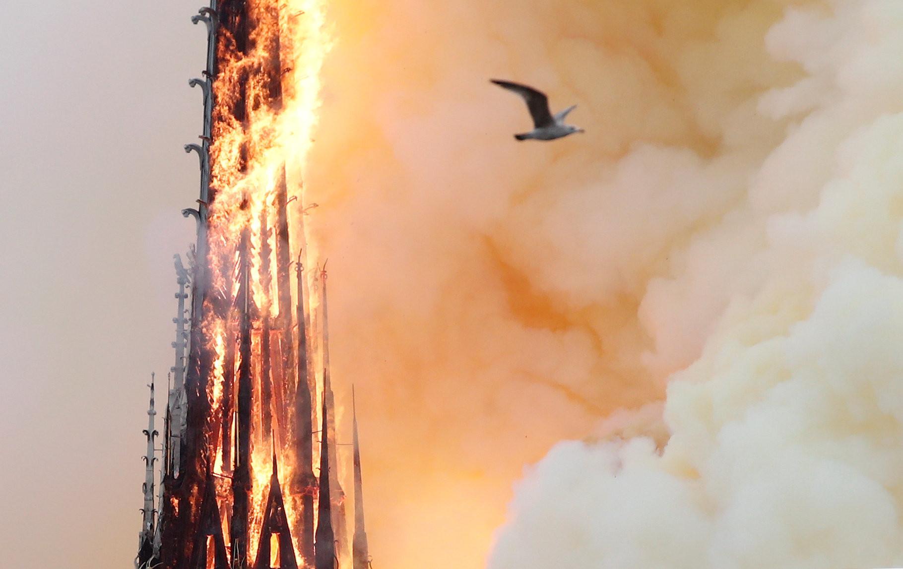 ▲巴黎聖母院(Notre-Dame de Paris);巴黎聖母主教座堂(Cathédrale Notre-Dame de Paris)火災。(圖/路透社)