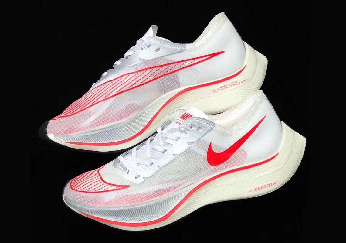 最强跑鞋Nike Zoom Vaporfly 5%来了!性能升级 首发配色超像萤火虫