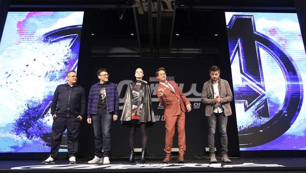 ▲《復仇者4》翻譯韓女登熱搜!身分跟Wanna One出身男團有關。(圖/達志影像/美聯社)