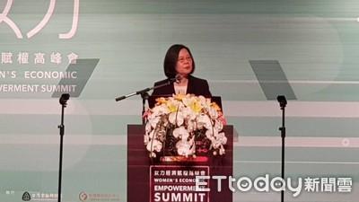 共軍頻挑釁 蔡英文霸氣嗆:台灣不會被嚇倒