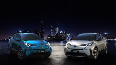 TOYOTA C-HR電動版上海車展現身