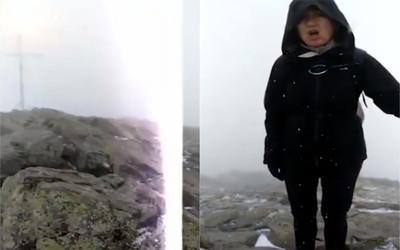 夫妻登山遇雷擊「瞬間被震飛」!