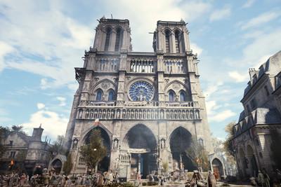巴黎聖母院還活著!專家朝聖《刺客教條:大革命》:重建就靠這