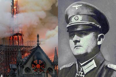希特勒曾下令炸毀聖母院!德國將軍抗命保住