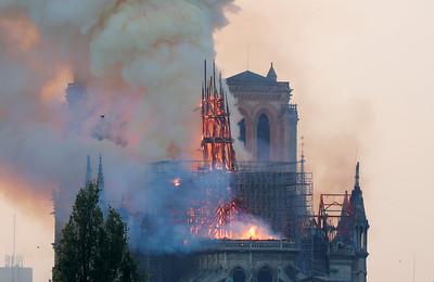 聖母院屋頂燒光光,他山之石我們學到什麼?