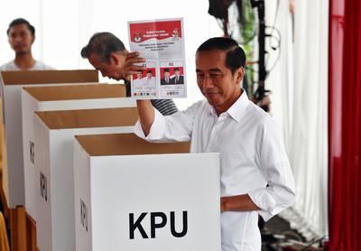 印尼大選登場 規模全球最大