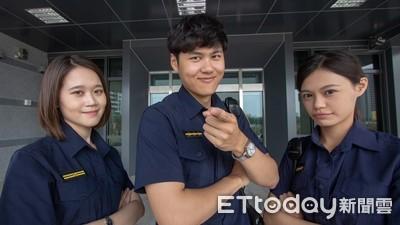 警察新制服全面上裝 永康警制服照曝光