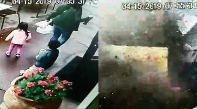 快車飛撞餐廳 母子3人驚險逃死