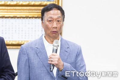 郭董投入總統大選 日媒關注夏普