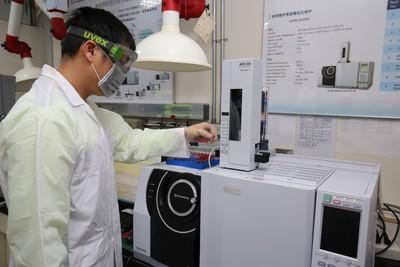 氣相層析質譜儀建功 破案率100%