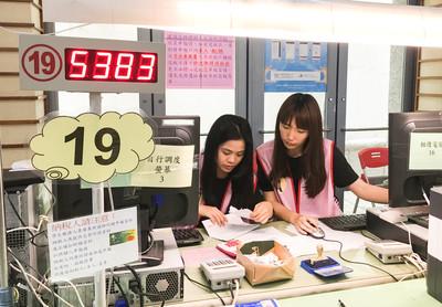 報稅旺季 大學報稅服務隊出勤
