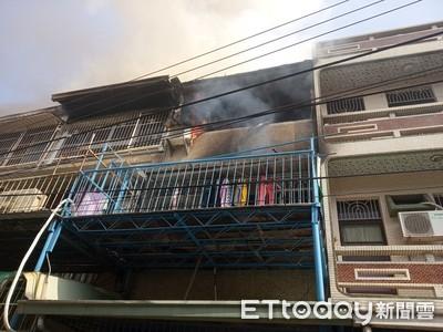台南永康區民宅火警 3樓起火無傷亡