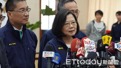 新黨邀李毅演講 蔡英文嗆:武統不被台灣人民接受