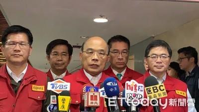 「請韓國瑜專心市政」 蘇貞昌不知他忙啥:院會從沒來過