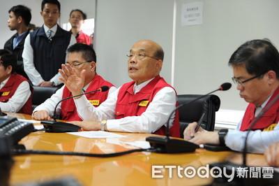 花蓮地震 蘇貞昌:政府密切注意 為即時應變做必要準備