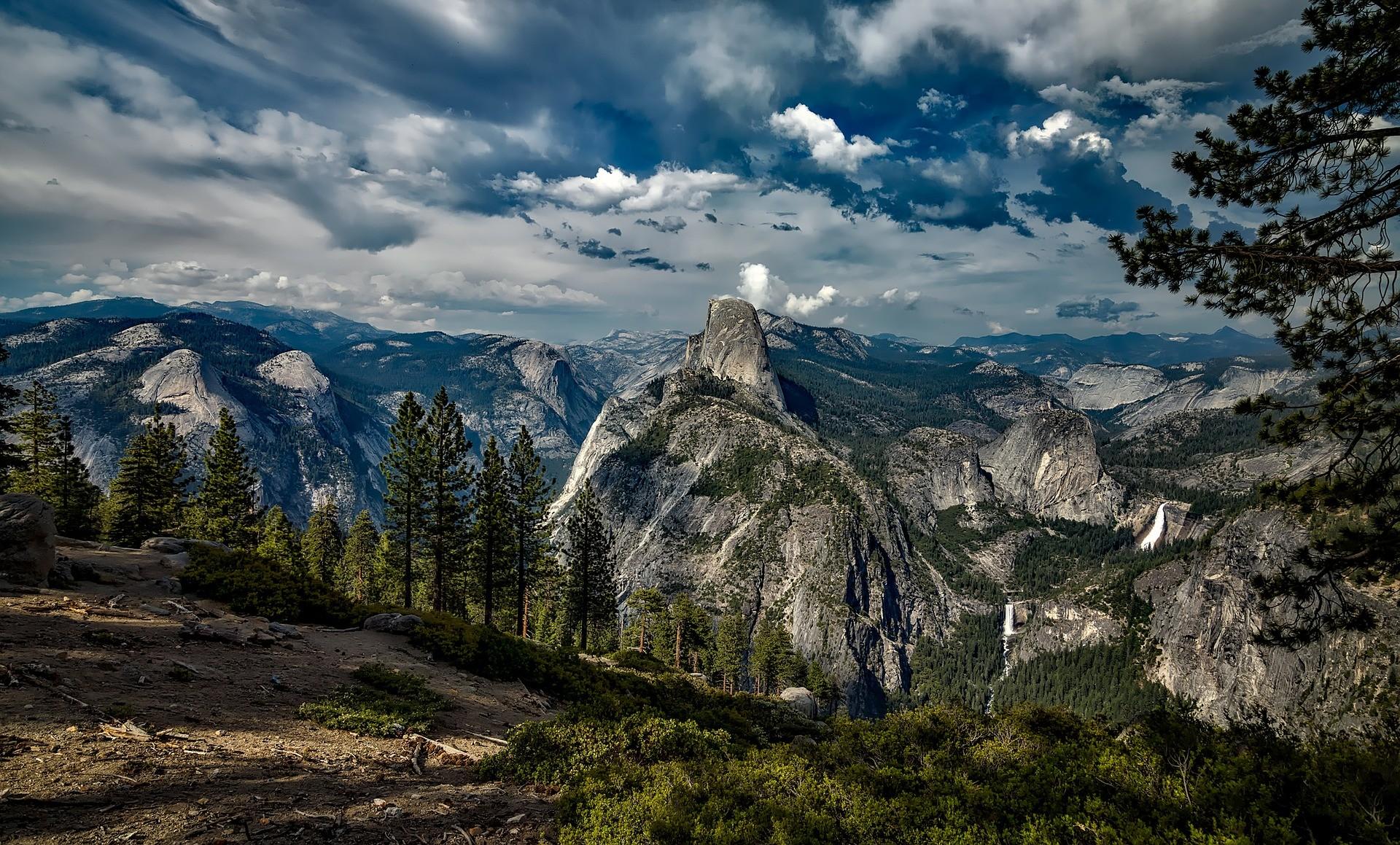 ▲優勝美地國家公園。(圖/取自免費圖庫Pixabay)