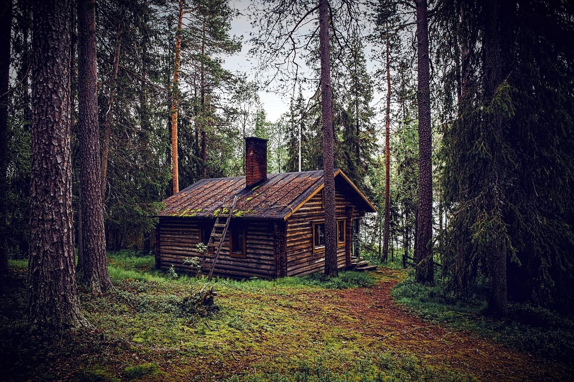 ▲小木屋。(圖/取自免費圖庫Pixabay)
