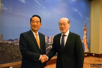 新華社專訪宋楚瑜 談一國兩制