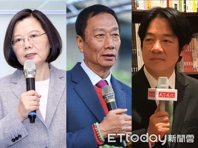 綠黨民調/蔡落後韓、郭 柯P被邊緣化