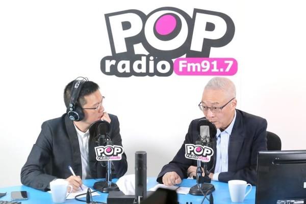 ▲▼國民黨主席吳敦義。(圖/POP radio提供)