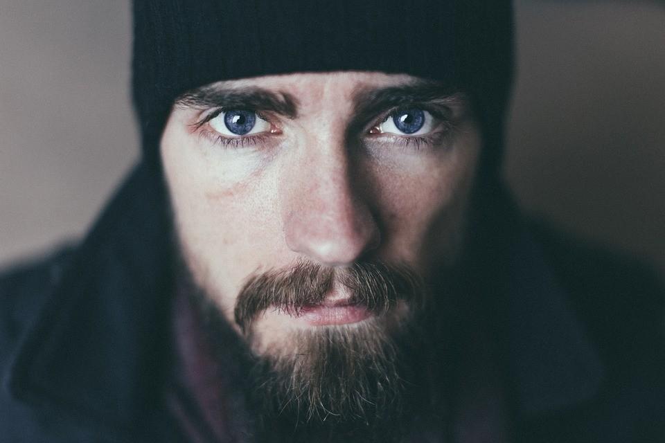 ▲▼蓄鬍。(示意圖/取自免費圖庫Pixabay)