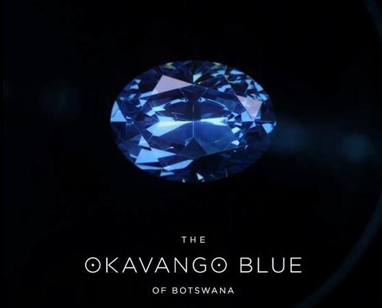 ▲奧卡萬戈藍鑽。(圖/翻攝自Okavango Diamond Company官方臉書影片)