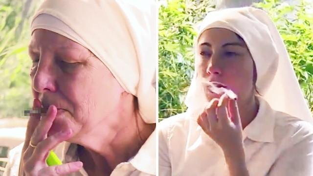 修女姐姐「瘋狂種大麻」!毒蟲酒鬼都被她們治好,每年賺三千萬濟貧