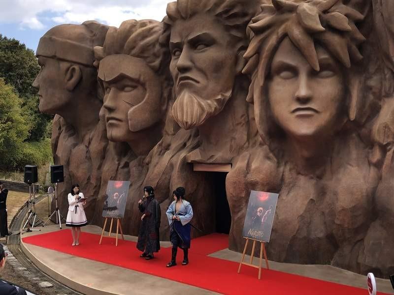 「火影忍者樂園」開幕啦! 重現火影岩經典場景 還能大吃一樂拉麵