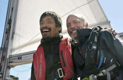 全盲水手橫渡太平洋 55天沒停過港口