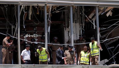 斯里蘭卡8起爆炸207死 2陸人罹難