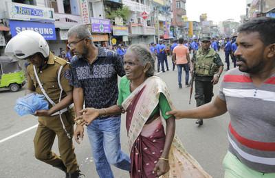快訊/斯里蘭卡爆炸 1國人赤腳逃出遭割傷