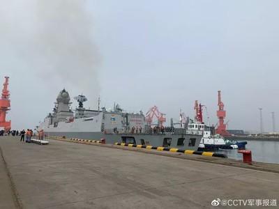 印軍艦「走台灣海峽」參加中國海上閱兵