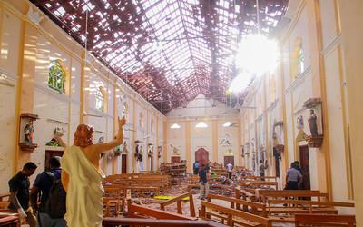 斯里蘭卡第9爆 廂型車轟一聲炸了