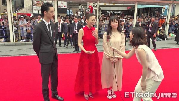 ▲▼第十一屆沖繩國際電影節紅毯。(圖/記者徐斌慎攝)