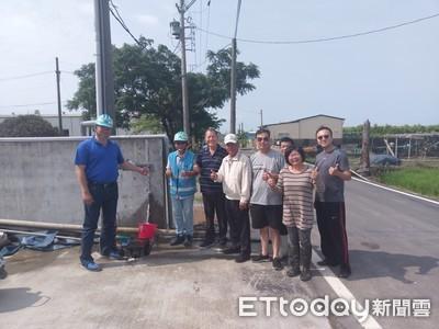 佳里佳興里6戶居民 終於有自來水了!