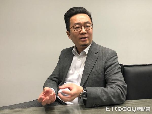▲甲桂林廣告業務副總經理陳衍豪。(圖/記者張瑞傑攝)