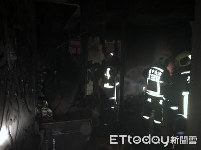 快訊/台中華美街火警 1女身亡