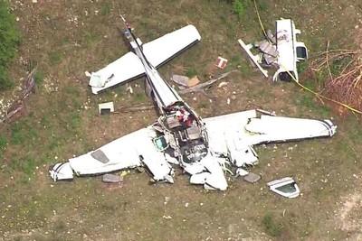 小飛機墜毀機場外9km 6人全罹難