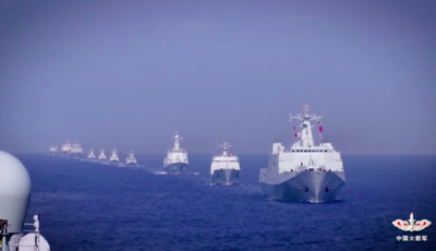 會見各國海軍代表 習近平替中國致意