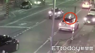 遇仇人開槍示警後逃逸 緊張出車禍馬上被抓
