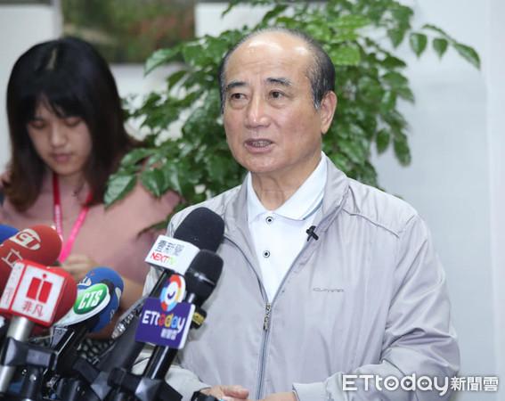 ▲前立法院長王金平。(圖/記者屠惠剛攝)